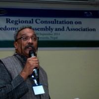 Regional Consultation on Freedom of Assembly and Association  Jointly organized by Forum – Asia & INSEC on 19-20 September, 2014 in Hotel Himalaya, Lalitpur, Nepal